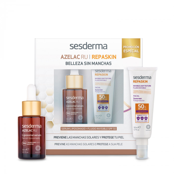 PACK AZELAC RU SERUM + REPASKIN FLUIDO INVISIBLE