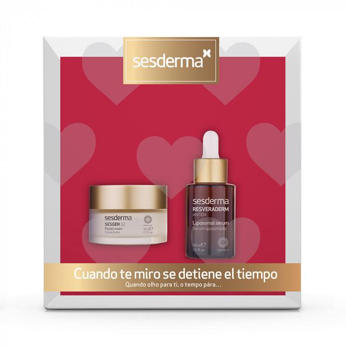 Pack Sesgen 32 crema + Resveraderm serum
