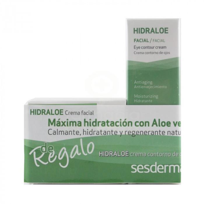 Pack Hidraloe Crema Facial + Hidraloe Contorno