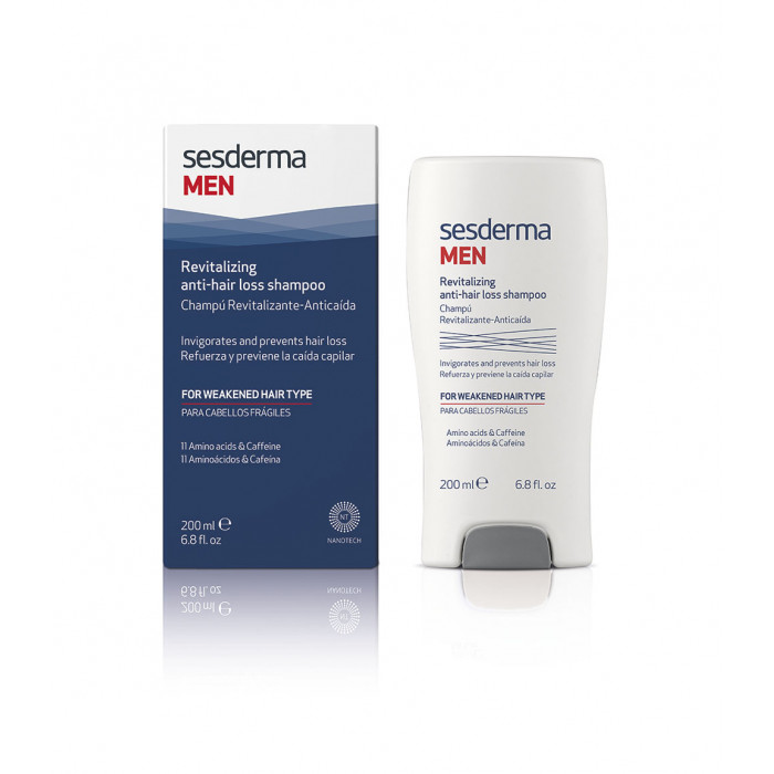 Sesderma Men Champú Revitalizante Anticaída 200 ml.