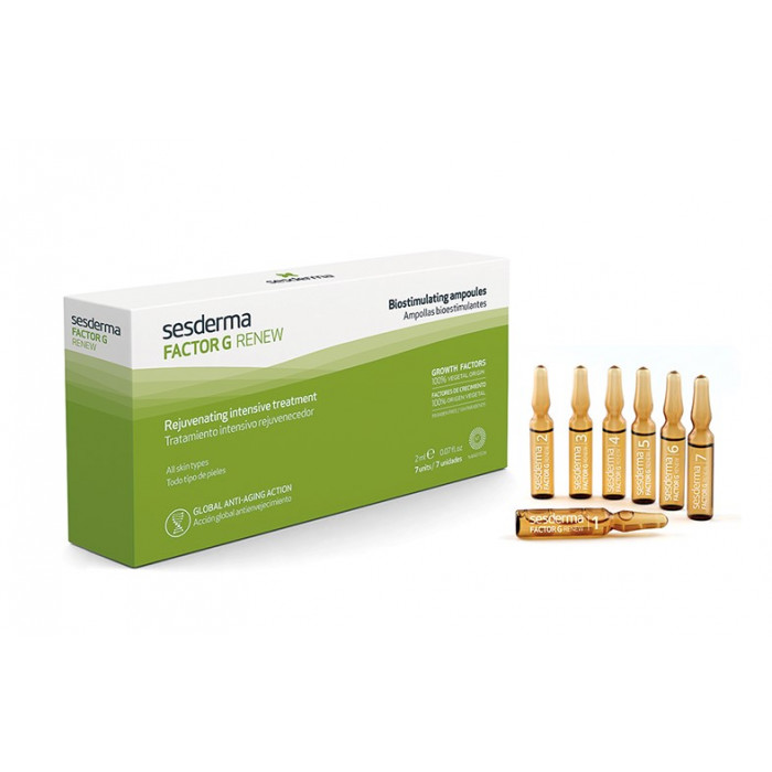 Factor G Ampollas Bioestimulantes 7x2 ml