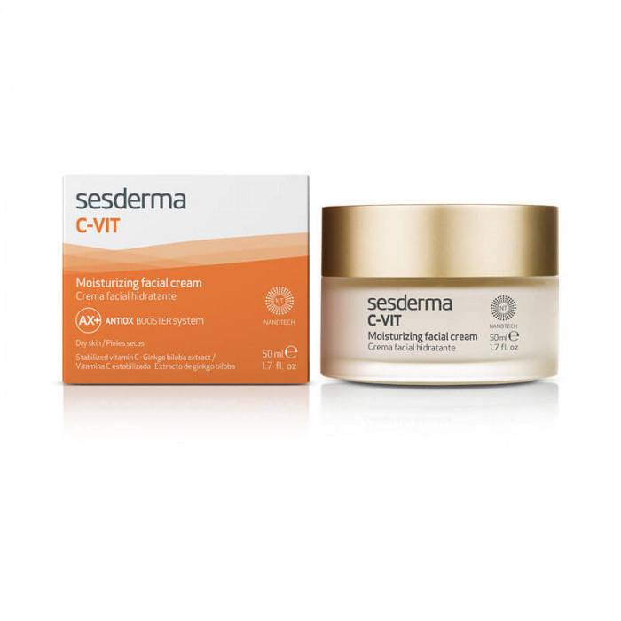 C-Vit Moisturizing Facial Cream 50 ml - New